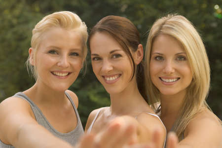 three persons only: Portrait of three women