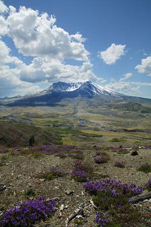 helens: Mount St. Helens,photographed June 2004,Washington,USA LANG_EVOIMAGES