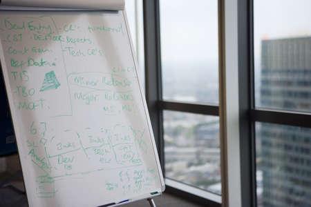 learnt: Whiteboard beside office window LANG_EVOIMAGES
