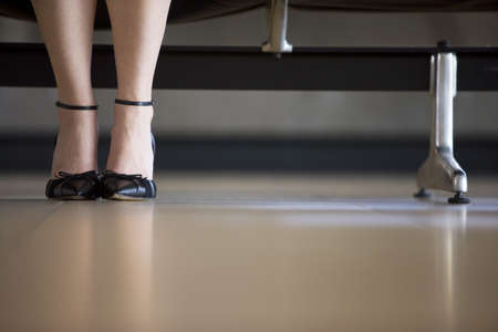horizontals: Close up of fashionable high heel shoes