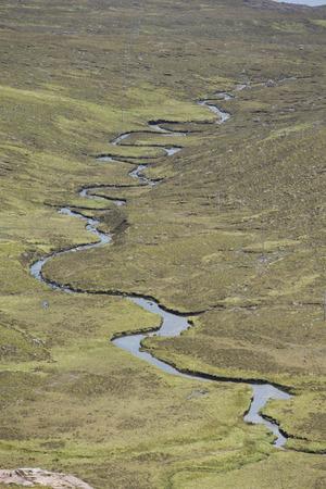 highlands: River meandering through Highlands LANG_EVOIMAGES