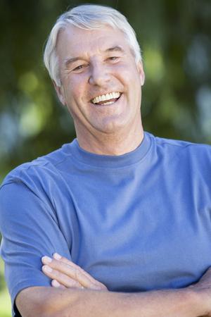 Portrait of a senior man Stock fotó