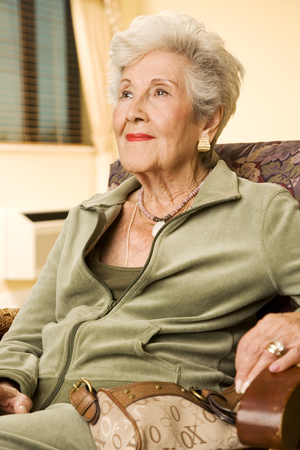 Portrait of an elderly woman Stock fotó - 96415126