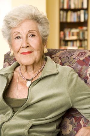 Portrait of an elderly woman Stock fotó