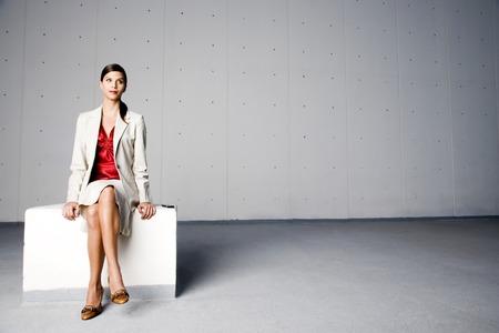 businesslike: Portrait of a businesswoman