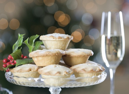 champers: Mince pies and champagne