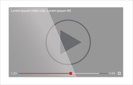 windows media video: Video player on the phone screen
