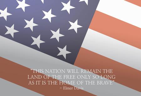 米国の退役軍人の日。英雄の動機の画像。国家のための自由。