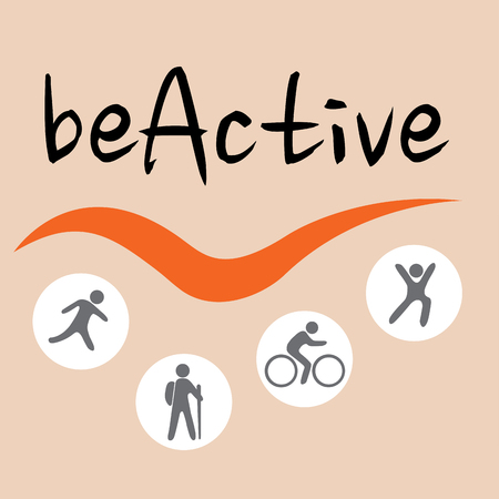 motivator: BeActive sign, active people motivator