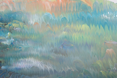 colorful oil paint painting abstract composition photography