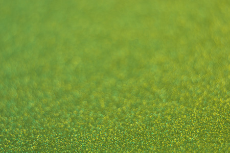 green background composition photograph with blur effect