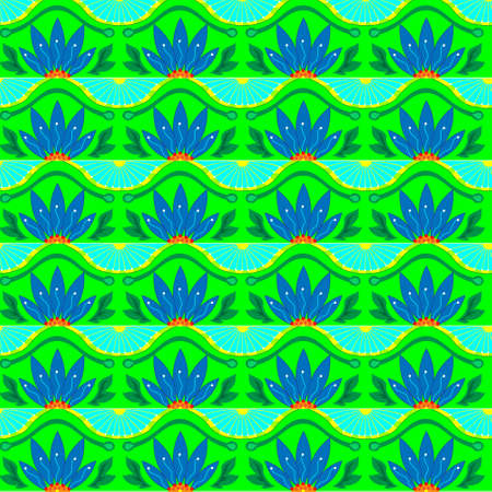 Floristic texture will be optimal for celebratory design. Vector