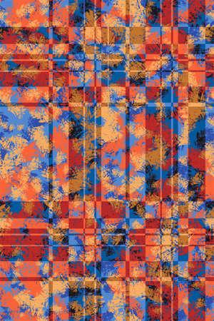 grange: Grange abstract seamless square pattern for design