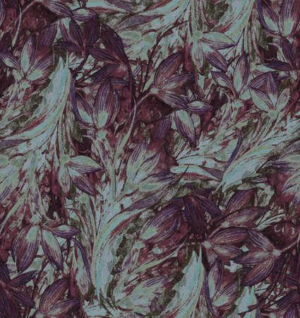 Jahrgang abstrakten floralen Elementen Standard-Bild - 35346633