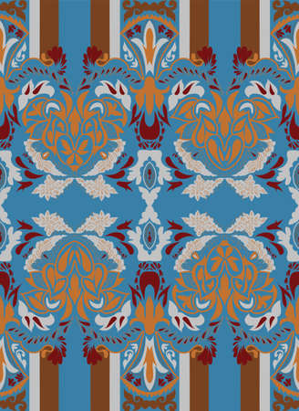 Seamless paisley pattern for fashion eastern design Vector