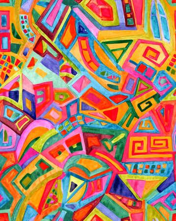 Nahtlose abstrakte geometrische Muster für stilvolles Design Standard-Bild - 36775368