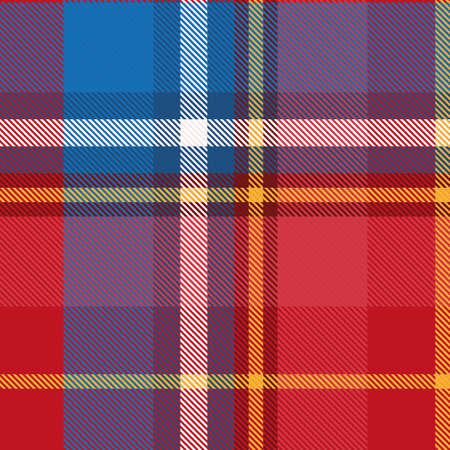 Seamless tartan pattern for design. Stylish trend photo