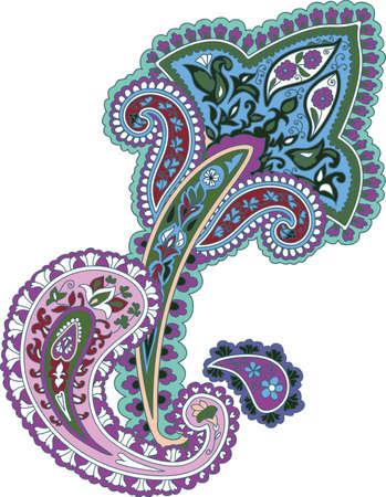 ornamental background: Traditional ornamental background.  Illustration
