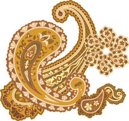 refine: Traditional ornamental background.  Illustration