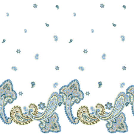 refine: Traditional ornamental seamless background. Paisley wedding design. Eastern style pattern