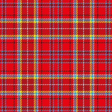 scotch: Seamless tartan pattern for design. Stylish trend