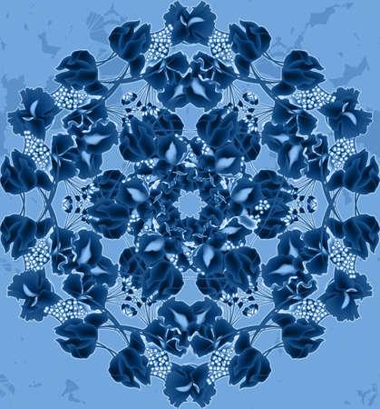 kaleidoscop: Seamless abstract kaleidoscopic pattern for stylish design