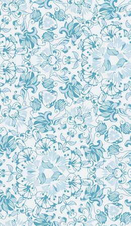 Abstract seamless tradition wedding pattern for fabric