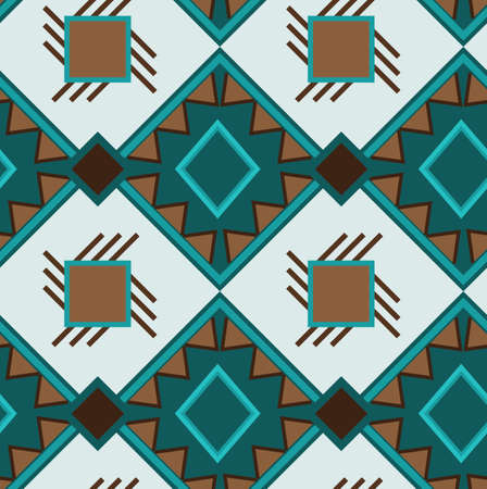 ethno: Ethno boho ornament. Ethnic seamless pattern. Tribal art print, tile background. Fabric design, wallpaper, wrapping