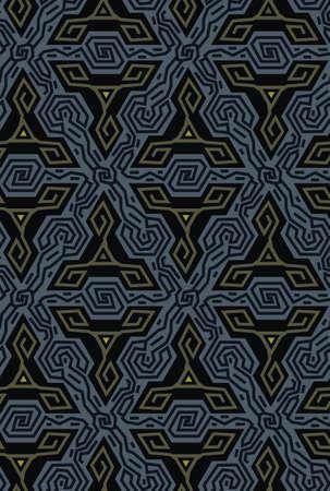 Geometric optical illusion vibration design.Triangles colors seamless pattern.