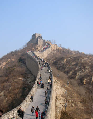 the great wall: Great Wall in Beijing