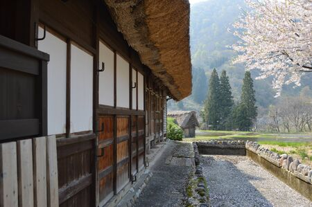 gokayama: Old house in countryside