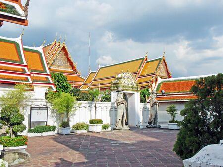 the grand palace: Grand Palace in Bangkok Stock Photo
