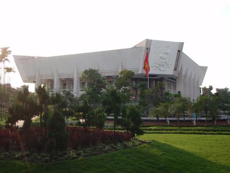 mausoleum: Ho Chi Minh Mausoleum in Hanoi