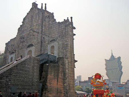 ruins: Ruins of St.Pauls