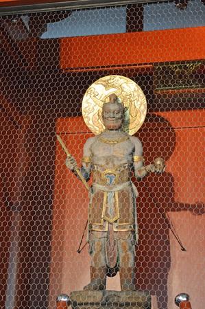 buddism: The statue of God at Asakusadera
