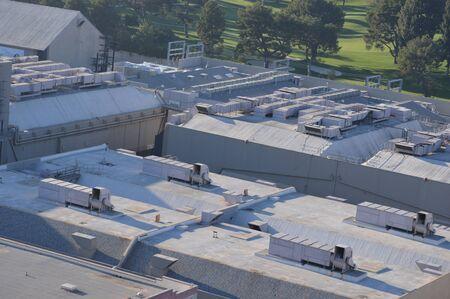 Dak van de fabriek