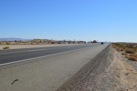 united states: Freeway in United States Stock Photo