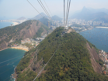 sightsee: Sugar loaf cable car