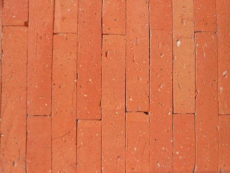 designe: Red brick background