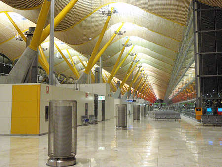 barajas: Madrid Barajas International Airport Stock Photo