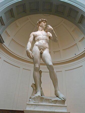 David sculpture by Michelangelo