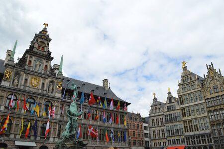 antwerp: City hall in Antwerp