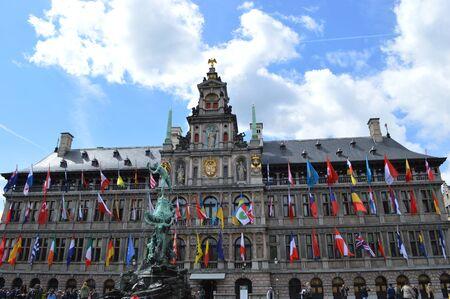antwerp: City hall of Antwerp