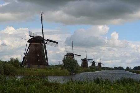 Kinderdijk in Netherlands