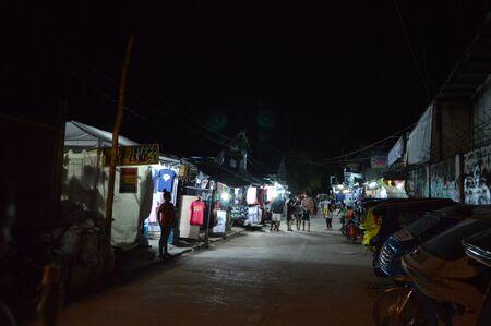 nido: El Nido at night Stock Photo