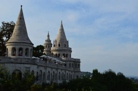 hungarian: Buda castle in Budapest Editorial