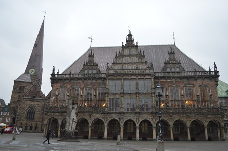 Town hall in Bremen, Germany