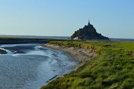 saint: The Mont-Saint-Michel in Normandy