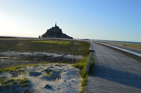 The Mont-Saint-Michel in Normandy