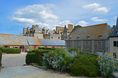 normandy: Saint-Malo in Normandy, France Editorial